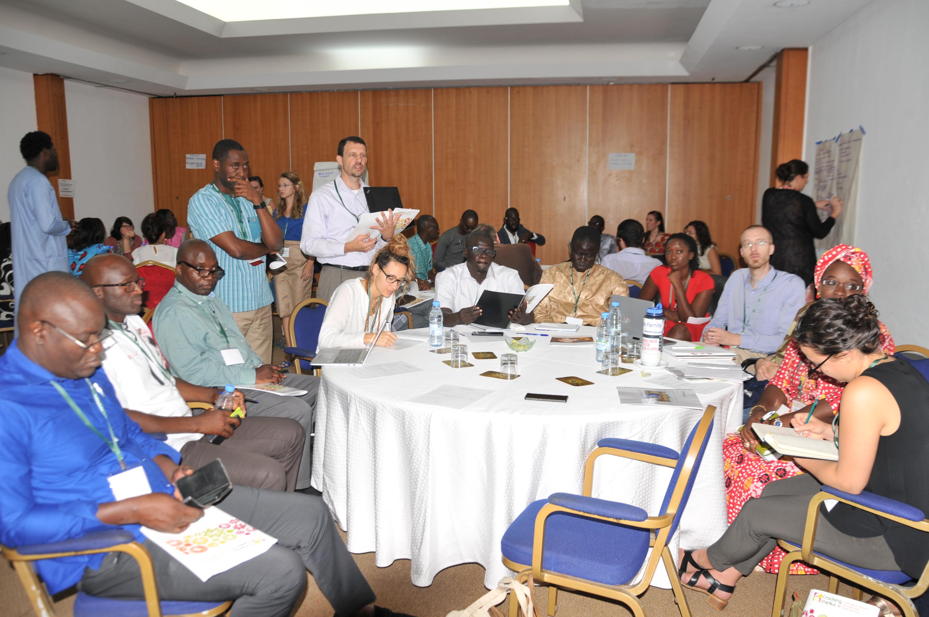 Participants at Cracking the Nut 2019 in Dakar, Senegal